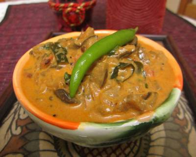 Kerala Style Eggplant Curry Recipe