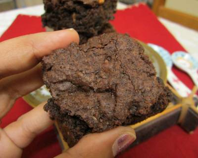 Ragi (Finger Millet) Chocolate Brownie Recipe