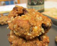 Whole Wheat, Oatmeal and Amaranth Fruitcake Cookie Recipe