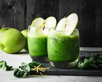 Green Apple Spinach Refresher Recipe