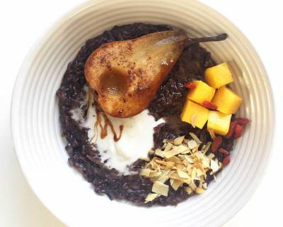 Black Rice Porridge Recipe