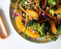 Broccoli Orange Asian Salad Recipe