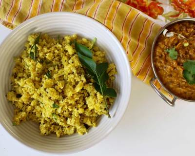 Cauliflower Rice and Lentil Curry Recipe
