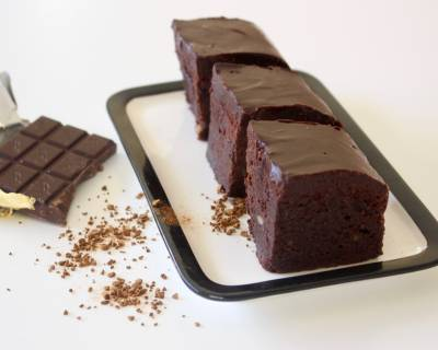 Filter Coffee Fudge Brownies Recipe