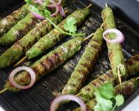 Haryali Seekh Kebab Recipe