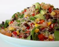 Mexican Quinoa Bean Salad Recipe