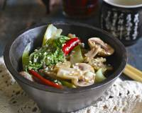 Mushroom And Bok Choy Stir Fry Recipe