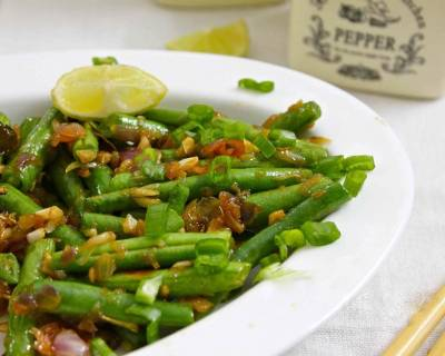 Thai Stir Fried Green Beans Recipe