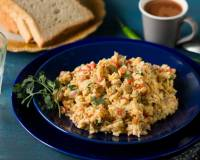 अकुरी - Parsi Style Seasoned Scrambled Eggs (Recipe In Hindi)