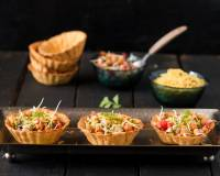 Homemade Canape Papdi Chaat Recipe