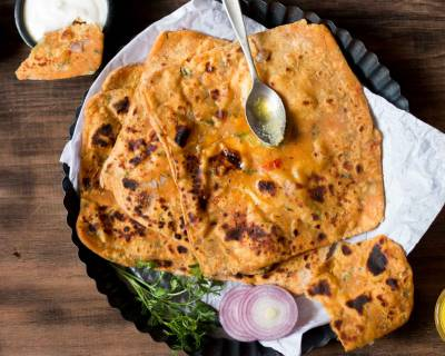 Leftover Dal Paratha Recipe
