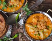 South Indian Style Vegetable Kurma Recipe