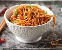 Spicy Sichuan (Szechuan) Vegetarian Noodles Recipe