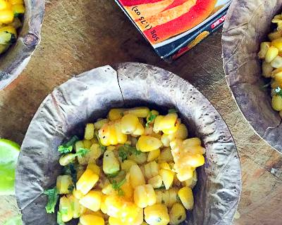 Butter Coriander & Lemon Sweet Corn Recipe