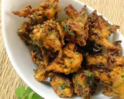 Methi Pakoras Recipe
