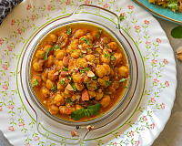 Moroccan Chickpeas Stew Recipe