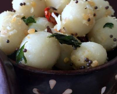 Ammini Kozhukattai (Rice Flour Dumplings) Recipe