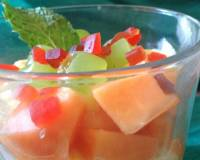 Low Fat Fruit Parfait Recipe (No Bake French Dessert Recipe)