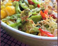 French style Grilled Vegetables with Cheese Recipe