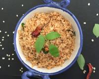 Ulundogorai - Spicy Urad Dal flavoured Rice (for Prashad & Naivedyam) Recipe