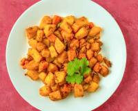No Onion No Garlic Aloo Gajar Ki Sabzi Recipe