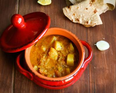 Easy Potato Kurma Recipe