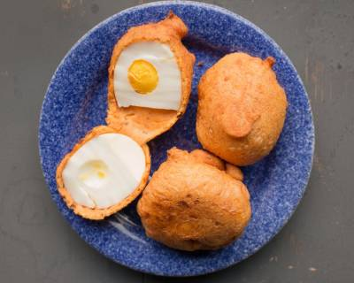 Egg Pakora Recipe - Egg Fritters