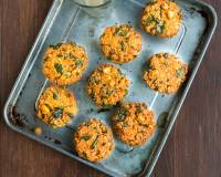 Methi Corn Dal Vada Recipe