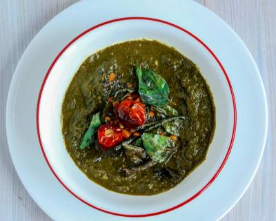 Puli Keerai Recipe (Tamarind Spinach Curry)