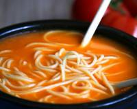 Tomato Noodle Soup recipe