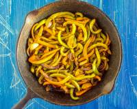 Mexican Style Vegetable Fajita Recipe
