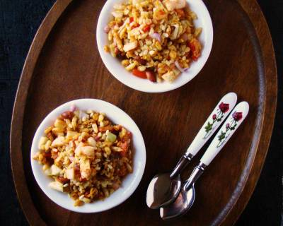 Bhel Puri With Raw Mango Recipe
