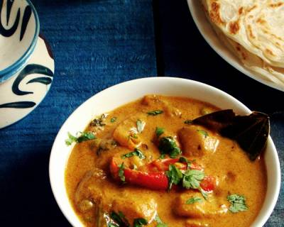 Hyderabadi Shahi Mixed Vegetable Curry Recipe