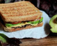 Avocado Tomato Grilled Cheese Sandwich Recipe