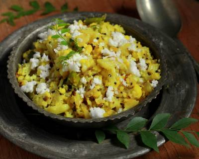 Cauliflower Thoran Recipe (Kerala Style Cauliflower)