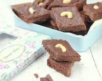 Chocolate Flavoured 7 Cup Burfi Recipe