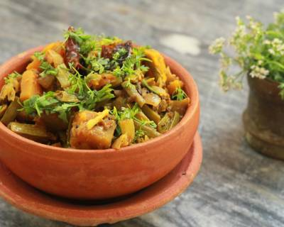 Gavar Pumpkin Sabji Recipe