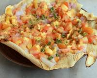 Papad Nachos With Salsa Recipe