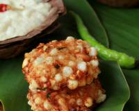 Sabudana Vada Recipe (Deep Fried Sago Patties/Cutlets)