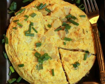 Spanish Omelette Recipe (Tortilla Espanola)