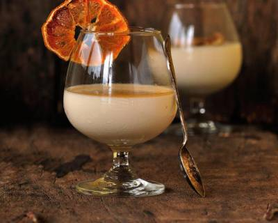 Burnt Orange Panna Cotta Recipe