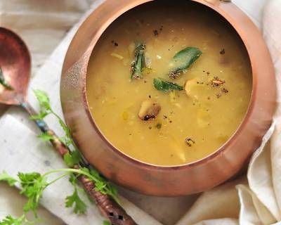 Garlic Dal Recipe