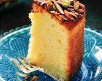 Parsi Mawa Cake Recipe (Tea Time Cake Flavored with Cardamom & Pistachios)