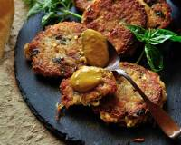 Potato Basil Fritters Recipe