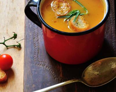 Roasted Cherry Tomato Soup Recipe