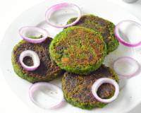 Restaurant Style Hara Bhara Kebab Recipe - Vegetarian Green Patties