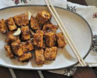 Asian Style Tofu in Spicy Orange Sauce Recipe