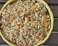 Burnt Garlic Chicken Fried Rice Recipe - Indo Chinese Fried Rice