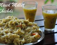 Mixed Millet Khichdi Recipe