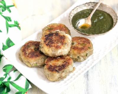 Raw Banana Cutlet Recipe - No Onion No Garlic Jain Cutlet